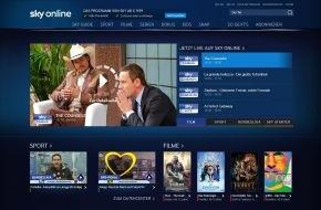 Sky Deutschland: Sky Online - der neue Weg zu Sky: Der einfache und flexible Zugang zu vielen der besten und exklusivsten Inhalte von Sky