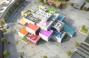 LEGO GmbH: Kirk Kristiansen-Familie legt Grundstein für das LEGO House
