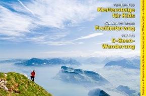 Wandermagazin SCHWEIZ: Wandermagazin Schweiz im Juni 2013: «Pilatus. Erhabener König dieser Traumwelt» (Bild)