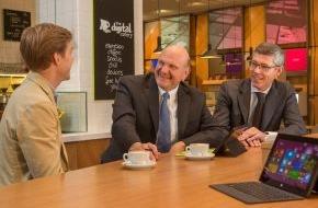 "Microsoft Deutschland GmbH: Steve Ballmer eröffnet ""Microsoft Berlin"""
