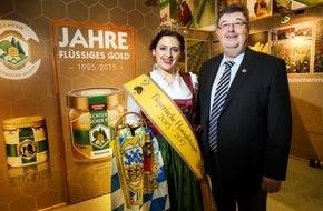 """Messe Berlin GmbH: Grüne Woche und """"Echter deutscher Honig"""" feiern gemeinsam"""