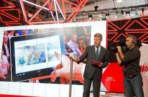 Vodafone GmbH: Vodafone macht den Zuschauer mit LTE Broadcast zum Regisseur
