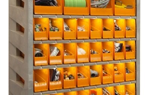 Apex Supply Chain Technologies: Apex Supply Chain Technologies® bringt Behältersysteme ins 21. Jahrhundert / Actylus[TM] optimiert Kleinteile-Management