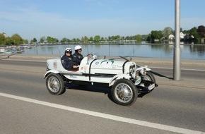 AUTO BILD: 5. Bodensee-Klassik 2016: In 180 rollenden Legenden durchs Dreiländereck