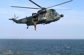 Presse- und Informationszentrum Marine: Sprechererklärung zum SAR-Dienst der Marine