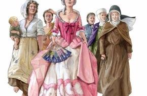 Museum Aargau: Frauen vor! Sechs Frauen erzählen Geschichte(n) / Die Saison 2012 im Museum Aargau steht ganz im Zeichen der Frau