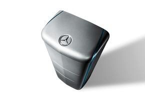 RWE International SE - Effizienz: Intersolar: RWE-Kunden fahren demnächst auch mit Mercedes-Benz-Speichern gut