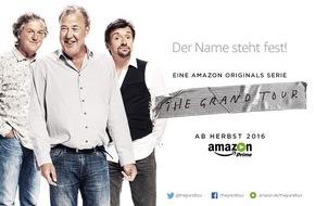 Amazon.de: The Grand Tour: Clarkson, Hammond und May verkünden Namen ihrer neuen Amazon Prime Show