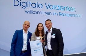 SYNK GROUP GmbH & Co. KG: Digitale Vordenker für Human Resources: SYNK GROUP unter den TOP 3 des Digital Champions Awards