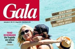 Gruner+Jahr, Gala: Minister Steinmeier ist Trauzeuge von Poletto und Grube