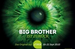 """sixx GmbH: """"Du wirst ALLES sehen!"""" sixx startet für """"Big Brother"""" die größte Programm-Kampagne seit Sendestart"""