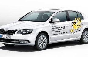 Skoda Auto Deutschland GmbH: SKODA macht das Kinder-Medien-Festival Goldener Spatz mobil (FOTO)