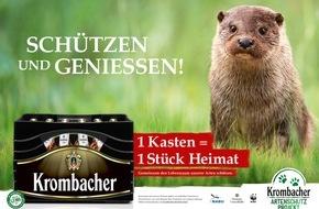 Krombacher Brauerei GmbH & Co.: Das große Krombacher Artenschutz-Projekt - Schützen und Genießen