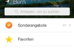 local.ch: local.ch-App: Update bringt neues Sucherlebnis