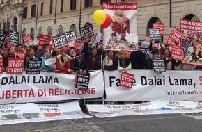 """International Shugden Community: Proteste gegen den Dalai Lama dieses Wochenende in Basel: """"Ende der Heuchelei und religiösen Verfolgung"""""""