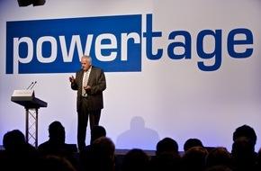 Powertage / MCH Group: Impulse für die Energiezukunft an den Powertagen 2016