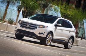 Ford-Werke GmbH: Ford auf der IAA Pkw: Neues SUV-Top-Modell Edge feiert seine Europa-Premiere