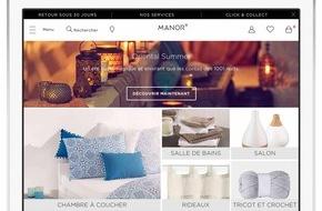 Manor AG: manor.ch neu mit Heim & Haushalt