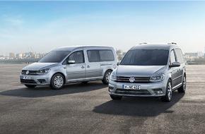 VW Volkswagen Nutzfahrzeuge AG: Der neue Caddy Maxi - immer die beste Wahl