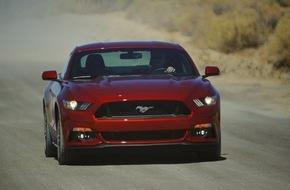Ford-Werke GmbH: Neuer Ford Mustang: Am 2. März startet in Deutschland der Vorverkauf
