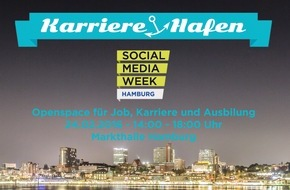 Social Media Week: Virtual Reality, Traumjobs und Karriereberatung: Jobmesse Karriere-Hafen im Rahmen der Social Media Week Hamburg