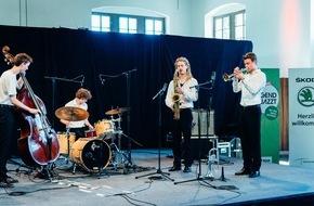 Skoda Auto Deutschland GmbH: SKODA machte die Bundesbegegnung 'Jugend jazzt' mobil