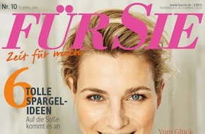 """Jahreszeiten Verlag, FÜR SIE: Film-Star Heino Ferch im Exklusiv-Interview mit der FÜR SIE: """"Vater-Sein ist keine Rolle"""""""