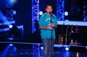 """SAT.1: Klassische Talentförderung: """"The Voice Kids"""" zieht The Anh (14) in den Bann der Zauberflöte"""