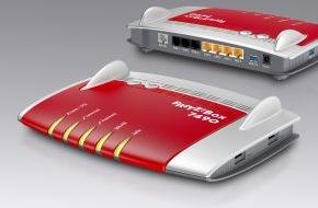 AVM GmbH: Neue FRITZ!Box 7490 von AVM am Start - Gigabit-FRITZ!Box mit WLAN AC für das schnellste Heimnetz