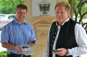 Hotel Schwarzer Adler: Hotel Schwarzer Adler, Bergbahnen und Tourismusverband starten Geocaching-Offensive im Tannheimer Tal
