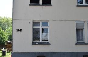 Feuerwehr Dortmund: FW-DO: Eine Person bei Wohnungsbrand verletzt