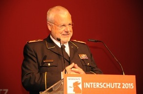 Deutscher Feuerwehrverband e. V. (DFV): Interschutz: Staatssekretär Schröder würdigt Engagement / DFV als große Klammer für verlässliches System / Weltleitmesse mit Rekordzahlen