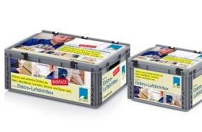 MOLL bauökologische Produkte GmbH: Neu: Sortimentsbox zur Luftdichtung nach DIN 4108-7 für Elektriker