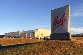 Huf Hülsbeck & Fürst: Huf nimmt neue Lackieranlage in Tennessee in Betrieb