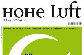 """Hohe Luft Magazin: Martin Heidegger: Begeistert von Hitler / Unveröffentlichter Briefwechsel zwischen den Heidegger-Brüdern liefert Belege für frühzeitiges NS-Engagement - """"Mein Kampf"""" als Lektüre-Tipp"""