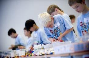 LEGO GmbH: Internationaler LEGO Bauwettbewerb: Kinder aus 35 Nationen bauen eine Welt aus LEGO Steinen