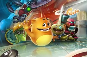 Crytek GmbH: Crytek puzzler Fibble - Flick 'n' Roll available to download from the App Store now!