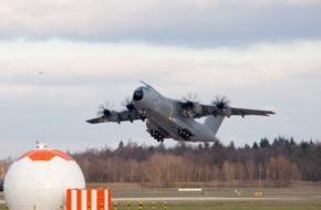 Presse- und Informationszentrum der Luftwaffe: Airbus A 400-M: Inspekteur der Luftwaffe gibt Flugbetrieb wieder frei