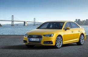 Audi AG: AUDI AG: Stärkstes Auftakt-Quartal mit mehr als 450.000 Auslieferungen