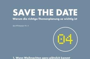dpa Deutsche Presse-Agentur GmbH: Neues dpa-Whitepaper soll bei der effizienten Planung helfen