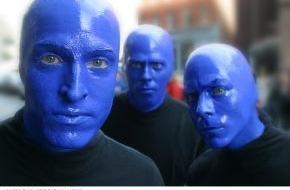 "Stage Entertainment Berlin: Blaumänner gesucht, Ziel New York! / Offenes Casting am 4. August bei Berlins ""Blue Man Group"""