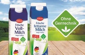 """LIDL: """"Ohne Gentechnik"""": Lidl setzt entscheidende Meilensteine / Ab Juli 2016 bundesweit in allen Filialen zertifiziert gentechnikfreie Frischmilch der Eigenmarke """"Milbona"""" - weitere Produkte folgen rasch (FOTO)"""