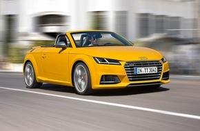 Audi AG: AUDI AG setzt Wachstum im April fort