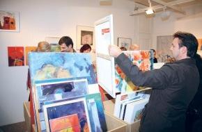 Kunstsupermarkt: Der 8. Schweizer Kunst-Supermarkt eröffnet mit 5500 Originalwerken - 82 Kunstschaffende ausgewählt