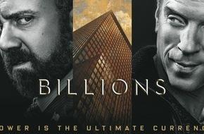 """Sky Deutschland: Damian Lewis spricht jetzt Deutsch: die realistische Wall-Street-Thrillerserie """"Billions"""" präsentiert von Sky On Demand"""