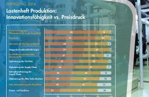 Freudenberg IT: Fertigung 2014: Priorität auf Effizienzsteigerung, Innovationsdruck und Internationalisierung der Produktion