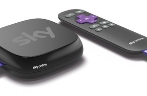 Sky Deutschland: Start der Sky Online TV Box - Die Streaming-Box von Sky powered by Roku