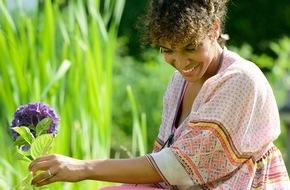 Blumenbüro: Spaß im Grünen mit der Hortensie / Prachtvolle Hortensienblüten aus dem eigenen Garten