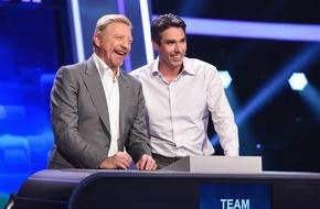"""ARD Das Erste: Das Erste: """"Quizduell-Olymp"""": Das Comeback des Erfolgsdoppels Boris Becker und Michael Stich am Freitag, 27. Mai 2016, 18:50 Uhr im Ersten"""