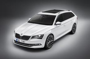 Skoda Auto Deutschland GmbH: Neuer SKODA Superb Combi gibt Premiere auf der IAA - Marktstart am 26. September